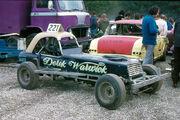 Derek Warwick's Superstox car