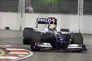 Nico Rosberg 2009 Singapore 4