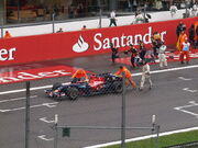 Bourdais Italian GP 2008 1