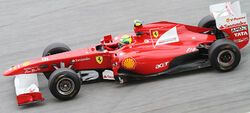 Felipe Massa 2011 Malaysia FP1
