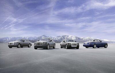 Rolls-Royce models lineup