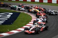 2008 Canadian GP lap 1 turn 2