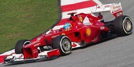 Fernando Alonso 2012 Malaysia Qualify