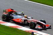 McLaren MP4-25 Hamilton Belgium GP2010 winner at Friday practice