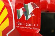 Ferrari 150 Italia side fin 2011 Malaysia