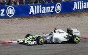 Jenson Button 2009 Italy 2