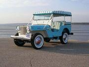 1964 Willys Jeep DJ-3A Surrey Gala in Blue