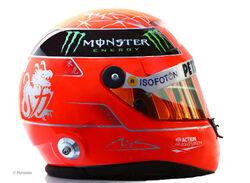 2012 M.Schumacher helmet