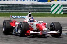 Toyota f1 usgp 2004