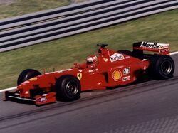 Eddie Irvine 1999 Canada