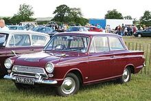 Ford Cortina Mark I reg Aug 1963 pre first facelift