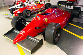Ferrari 637 front-left Museo Ferrari