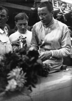 Jean-Pierre Wimille at 1936 Grand Prix de Deauville