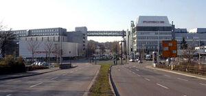 Porsche Factory at Stuttgart