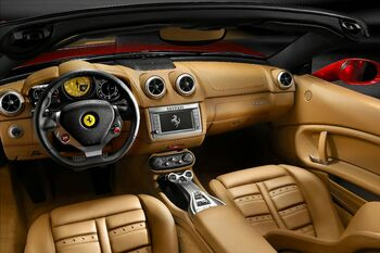Ferrari California interior 1