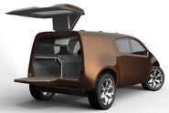 Nissan Bevel Concept open rear