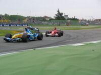GP Imola2005 SchumiAlonso
