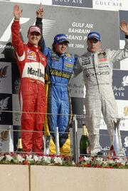 Bahrain 2006 podium