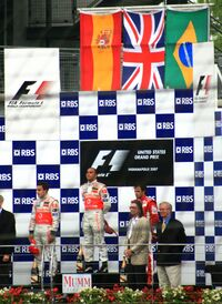 Podium 2007 USGP