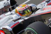 Lewis Hamilton 2010 Britain
