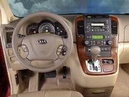 2006 Sedona dashboard