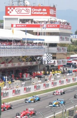 2003 Spanish Grand Prix grid