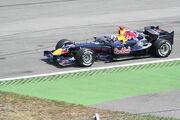 Formel1 Rennwagen 'RedBul-Racing' Hockenheim 2006 001
