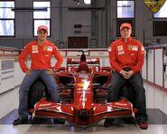 Ferrari F2008 8