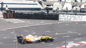 Kovalainen in Monaco