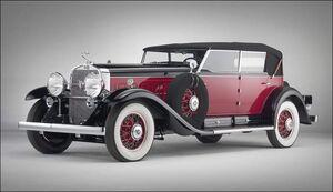 1930 Cadillac V16 All-Weather Phaeton with custom coachwork by Murphy
