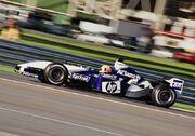 Ralf Schumacher Indianapolis 2003