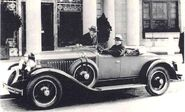 1927 La Salle Earl At The Wheel Laurence P Fisher Standing-july12a
