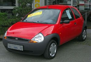Px Ford Ka Front