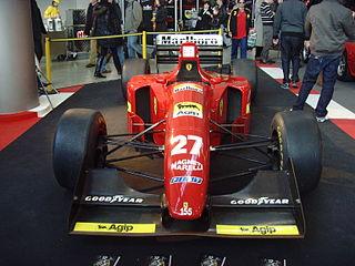 Ferrari 412T1 2010 Retro Classics Stuttgart
