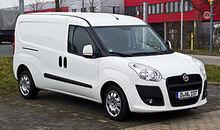 Fiat Doblò Cargo Maxi 1.6 16V Multijet (II) – Frontansicht, 3. März 2013, Düsseldorf
