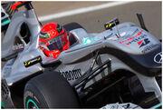 Schumacher British GP 2010