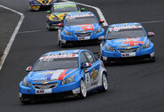 Chevrolet trio 2010 WTCC Race of Japan (Qualify 1)