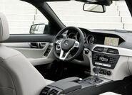 Mercedes-Benz-C-Class 2012 interior 1