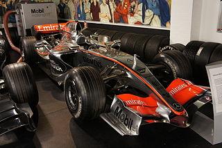 McLaren MP4-21 - Donington Park