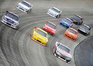 2011 Dover Oct NSCS Race Earnhardt Jr Bowyer Vickers