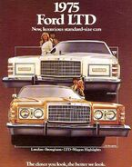 75 ford ltd brochure cover