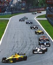First lap 2001 Canada