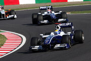 Williams duo 2009 Japan