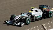 Nico Rosberg 2010 Bahrain