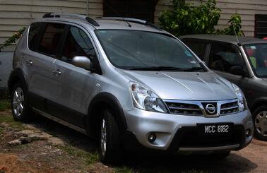 Nissan Livina in Malaysia