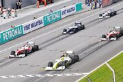 2009 Malaysian Grand Prix start (cropped)