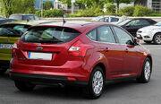 Ford Focus 1.6 TDCi Titanium (III) – Heckansicht, 14. Juni 2011, Mettmann