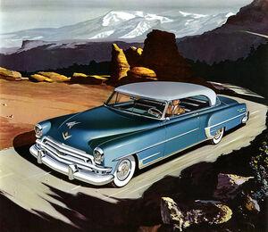 Chrysler 1954 new yorker blue 00