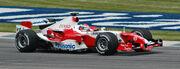 Zonta (Toyota) qualifying at USGP 2005