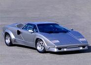 Lamborghini Countach 25th anniversary angle
